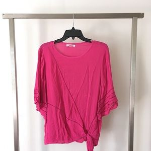 Tops - 🆕Hot Pink Blouse